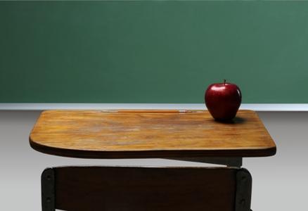 an apple for teacher